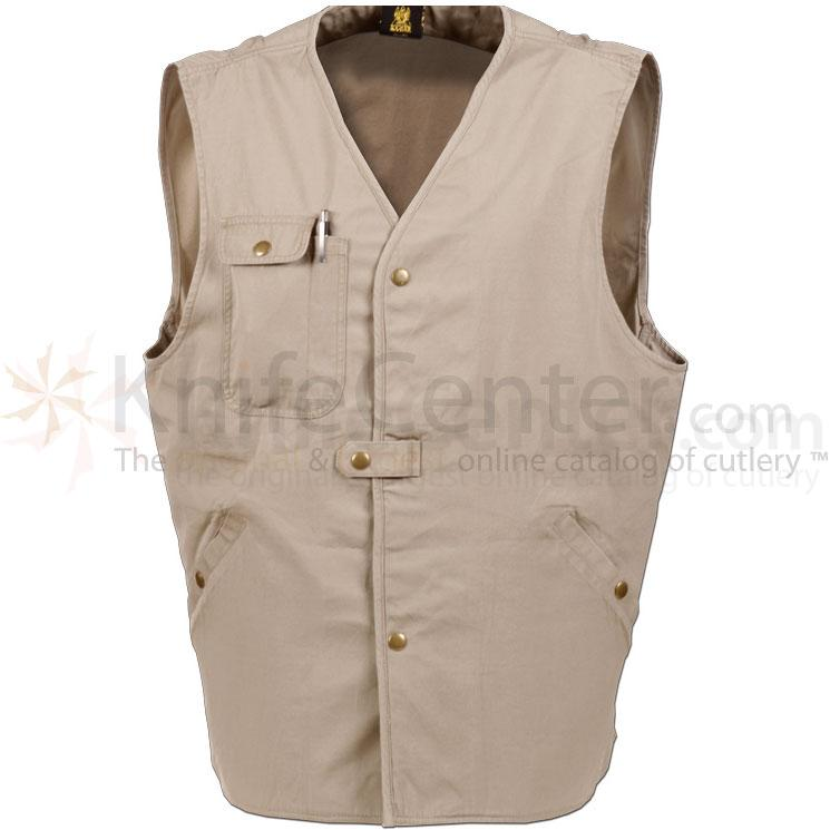 KA-BAR 1492-L TDI Tactical Vest, Khaki, Large