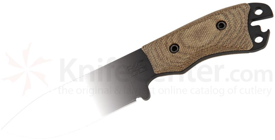 KA-BAR BK11 Becker Necker Green Canvas Micarta Handle Slabs (Knife Not Included)