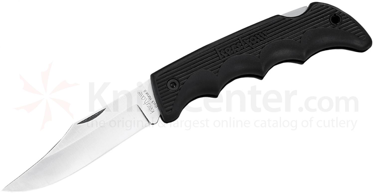 Kershaw 1060 Black Horse II Folding Knife 3-3/4 inch Blade, Polymer Handles, Nylon Sheath