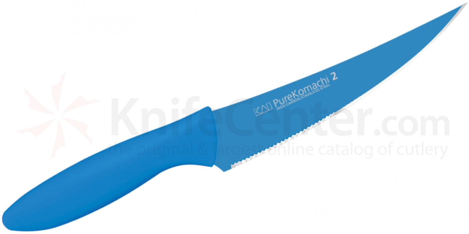 KAI Pure Komachi 2 Series (Blue) 6 inch Multi-Utility Knife (AB5061)