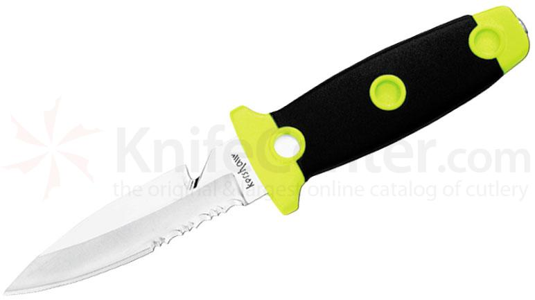 Kershaw 1008 Sea Hunter Diver's Knife 3-3/4 inch Blade, Kydex Sheath