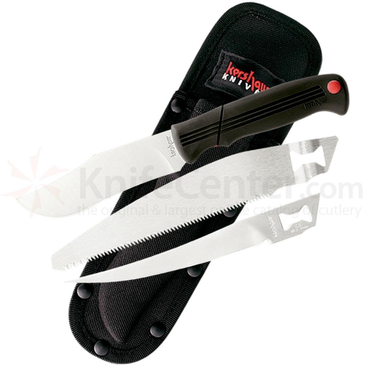 Kershaw 1095SBT Sportsman's Blade Trader, 1 Handle with 3 Inerchangeable Blades