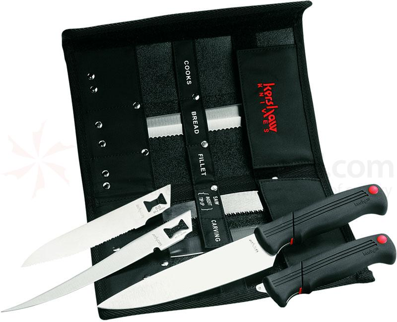 Awesome Kershaw 1099DBT Deluxe Blade Trader, 2 Handles With 6 Interchangeable Blades