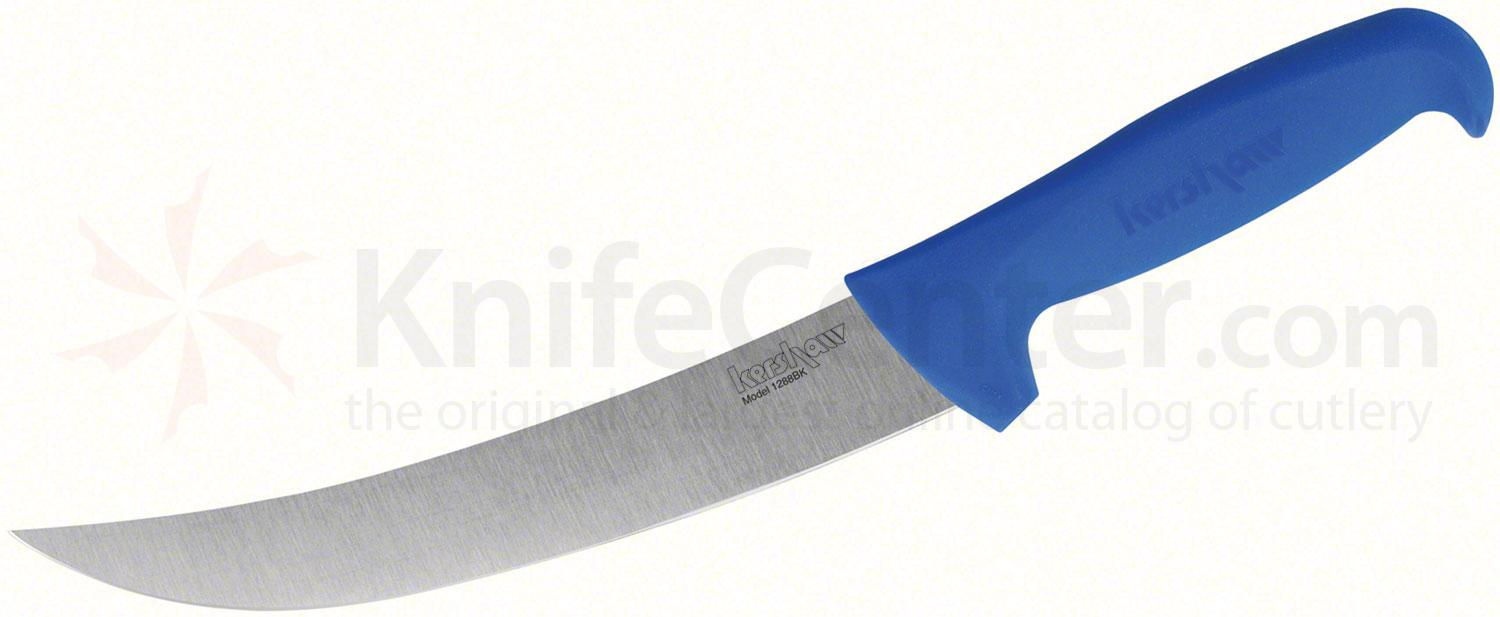 Kershaw 1288BK Professional Grade Breaking Knife 8 inch Blade, Blue Polypropylene Handle