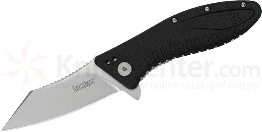 Kershaw 1319 Grinder Assisted Flipper 3.25 inch Reverse Tanto Blade, Zytel Handles