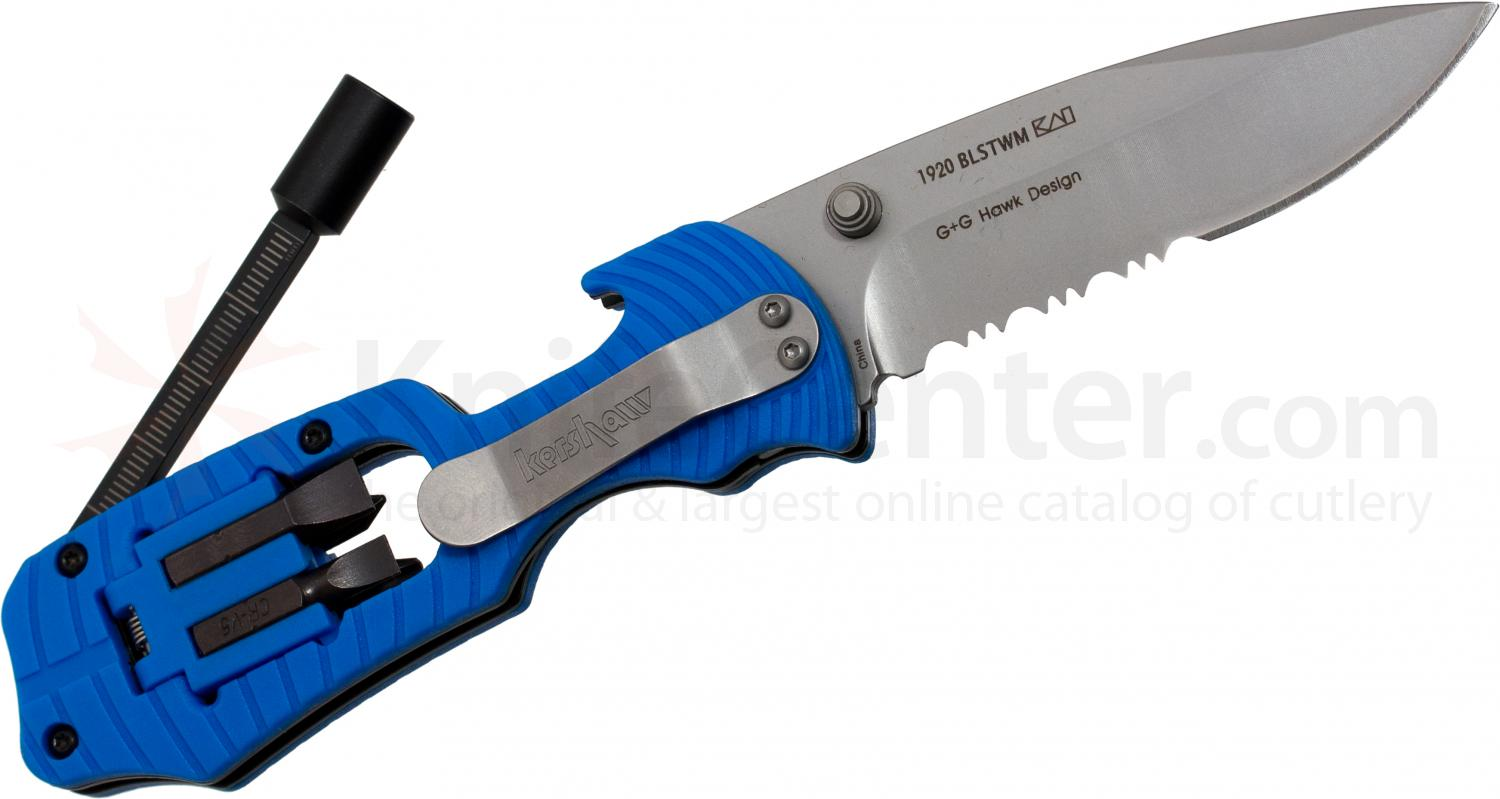 Kershaw 1920blstwm Select Fire 3 3 8 Quot Combo Edge Blade