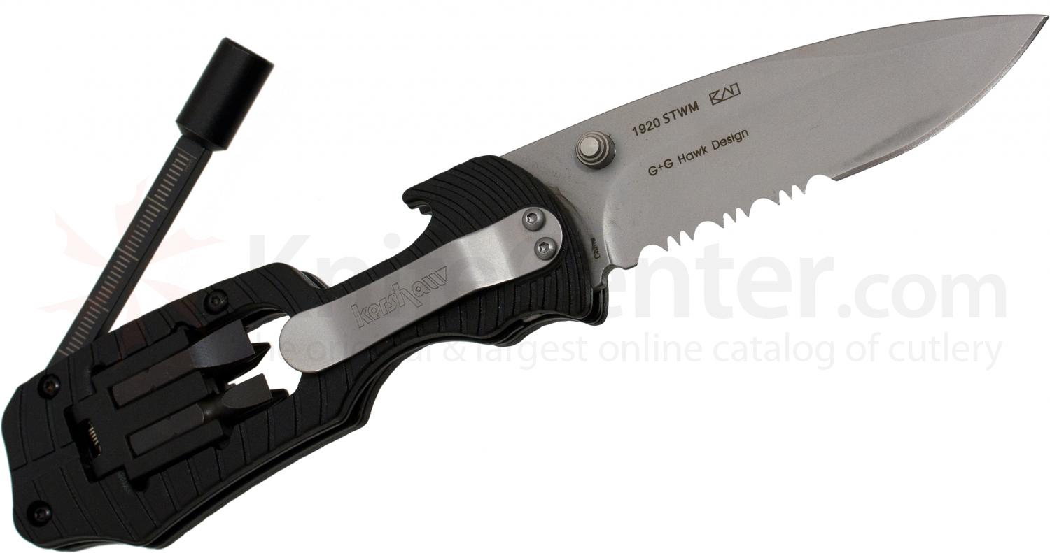 Kershaw 1920stwm Select Fire 3 3 8 Quot Combo Edge Blade Multi