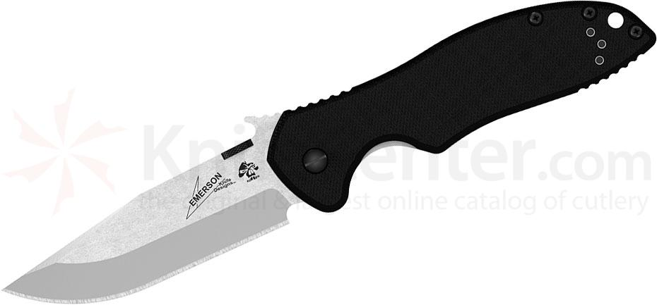 Kershaw Emerson 6034 CQC-6K Folding Knife 3.25 inch Stonewashed Blade, G10 and Stainless Steel Handles
