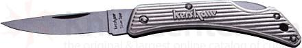 Kershaw Knives Silver Spur Lockback Folding Knife 2-1/2 inch Closed