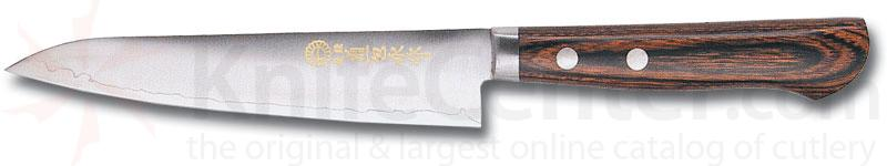 Kikuichi Warikomi Small Elite Gold All Purpose Knife 5.3 inch Blade (WGA13-05-3)