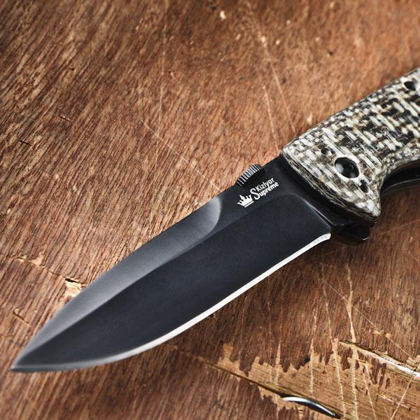 Kizlyar Supreme Vega 440C Folding Knife 3.6
