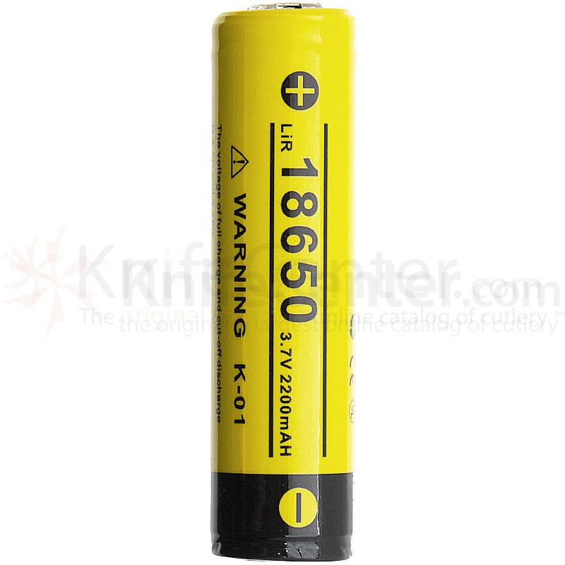 Klarus 18650 Rechargeable Lithium- Ion Battery 3.7V 2200mAh