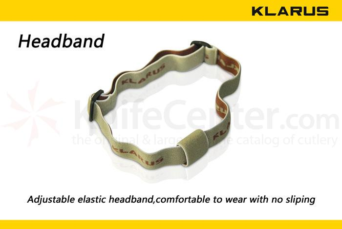 Klarus Flashlight Headband Fits P, ST, NT, and EDC Lights