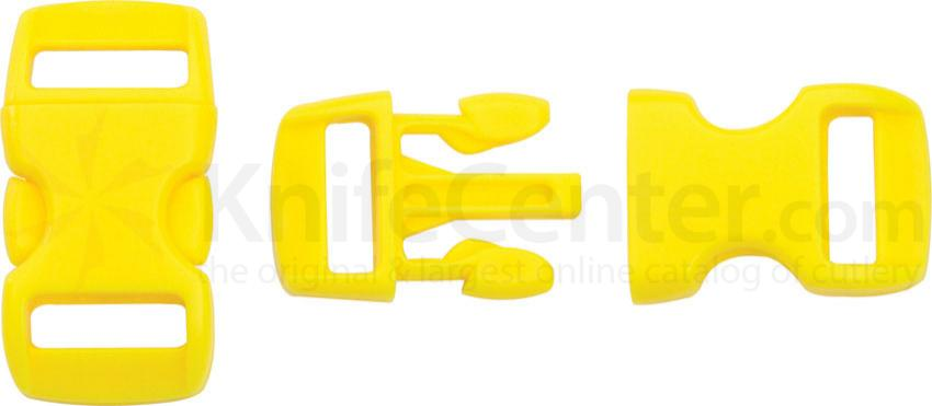 Knotty Boys Yellow Bracelet Buckles, 50-Pack