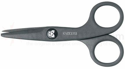 Kyocera Advanced Ceramics (Charcoal Gray) Ceramic Scissors 1.8 inch Blade
