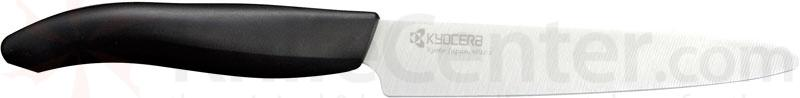 Kyocera Advanced Ceramics Revolution Series (White) 5 inch Kitchen Micro Serrated Utility Knife