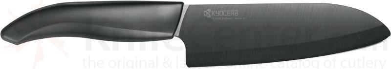 Kyocera Advanced Ceramics Revolution Series (Black) 5.5 inch Kitchen Santoku Knife