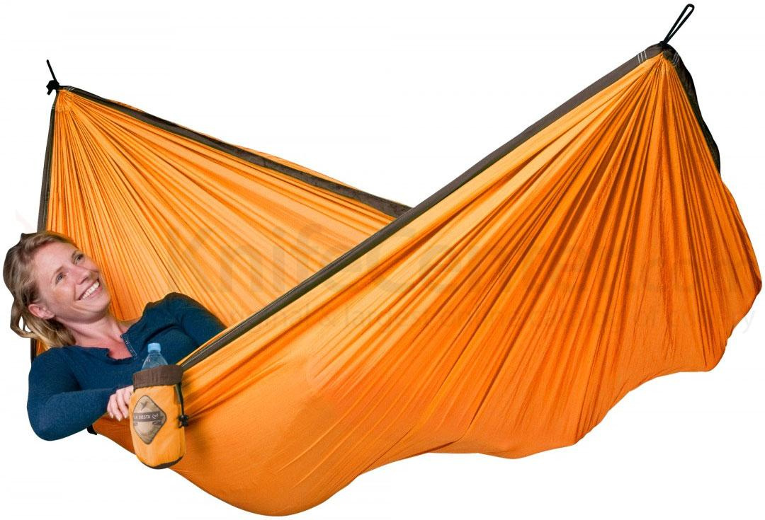 & quot; Single hammock & quot; for travel Colibri Orange - By the hammocks store of Americas