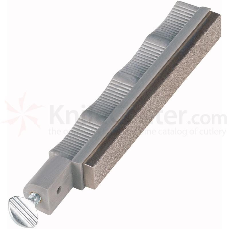 Lansky Extra Coarse Diamond Sharpening Hone - Silver Holder
