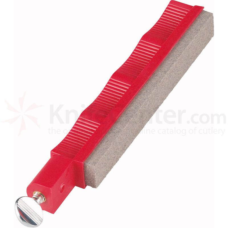Lansky Coarse Sharpening Hone - Red Holder
