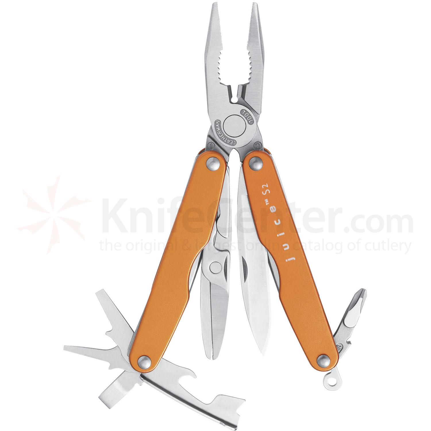 Leatherman Juice S2 Pocket-Size Multi-Tool, Flame Orange