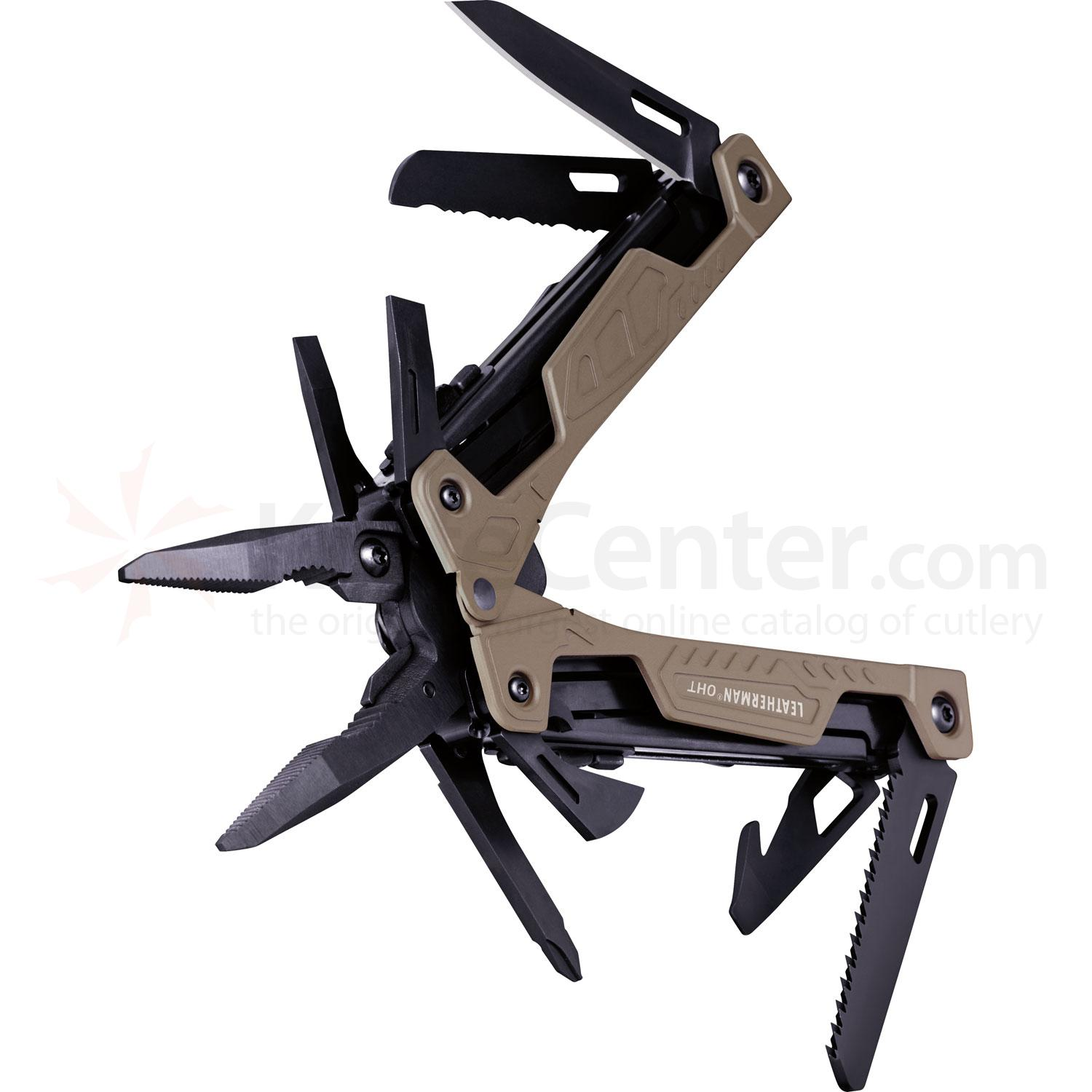 leatherman 831626 oht coyote tan duty specific multi tool. Black Bedroom Furniture Sets. Home Design Ideas
