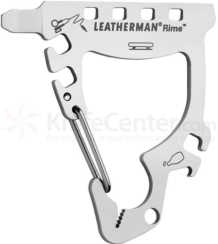 Leatherman 831778 Rime Keychain Size Mini Multi-Tool, Snowboarding PocketTool