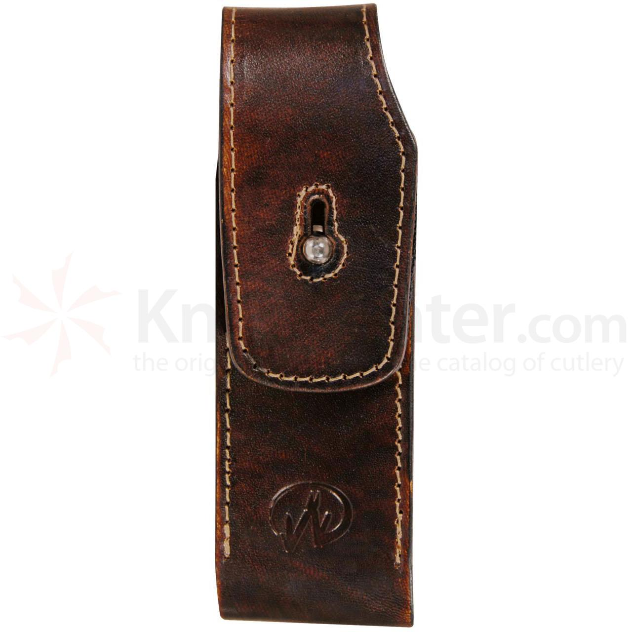 Leatherman 946500 Folding Hunting Knife Sheath - Leather