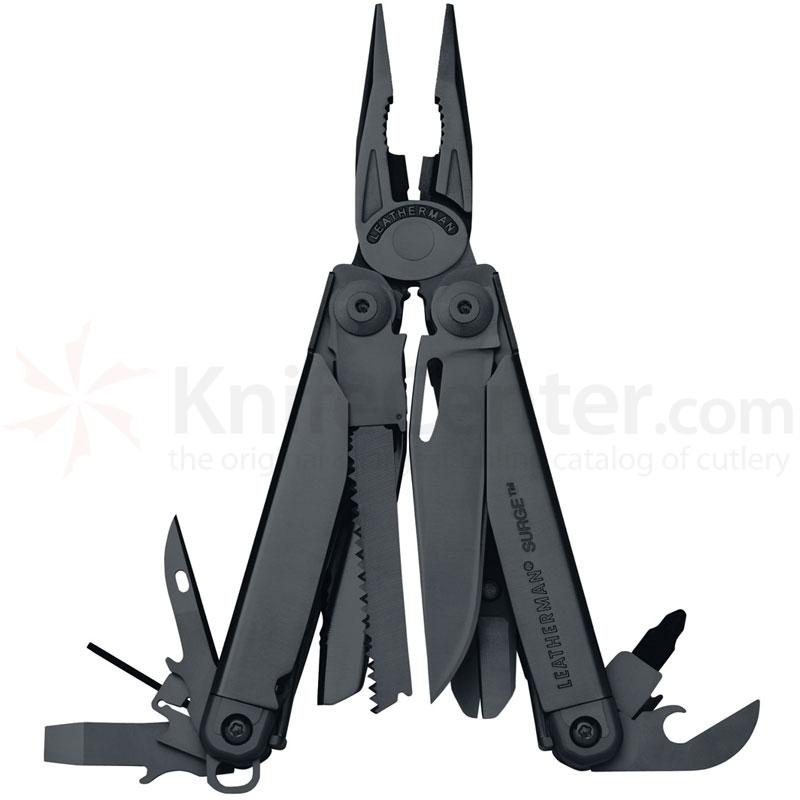 Leatherman Surge (Black) Full Size Multi-tool with MOLLE Sheath