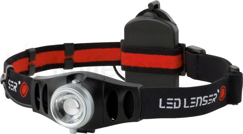 LED Lenser 880002 H7 Lightweight LED Headlamp, 200 Max Lumens, Black