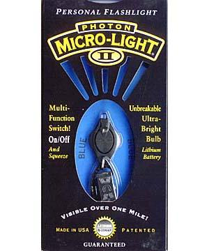 Photon Micro Light 2 Key Ring Blue LED