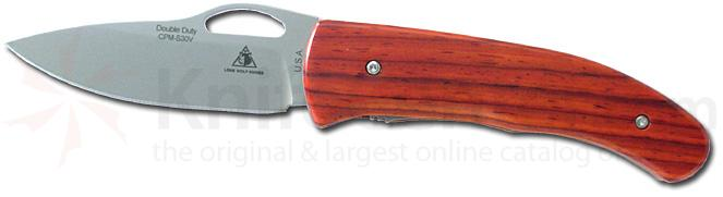 Lone Wolf Double Duty AUTO Cocobolo Handle 3 inch S30V Blade