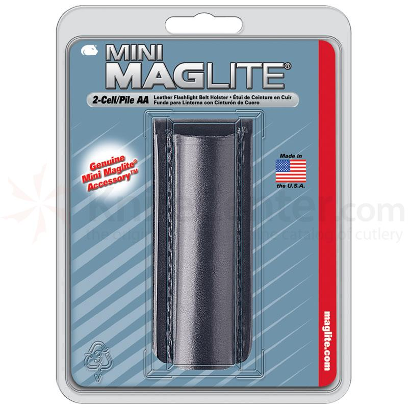 Maglite Holster, Minimag - Plain Leather