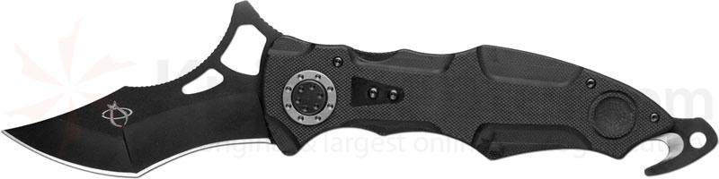 Mantis MT-8R Z'mora Rescue Knife 4 inch Blade, G10 Handles, Rescue Hook, Two Glass Breakers