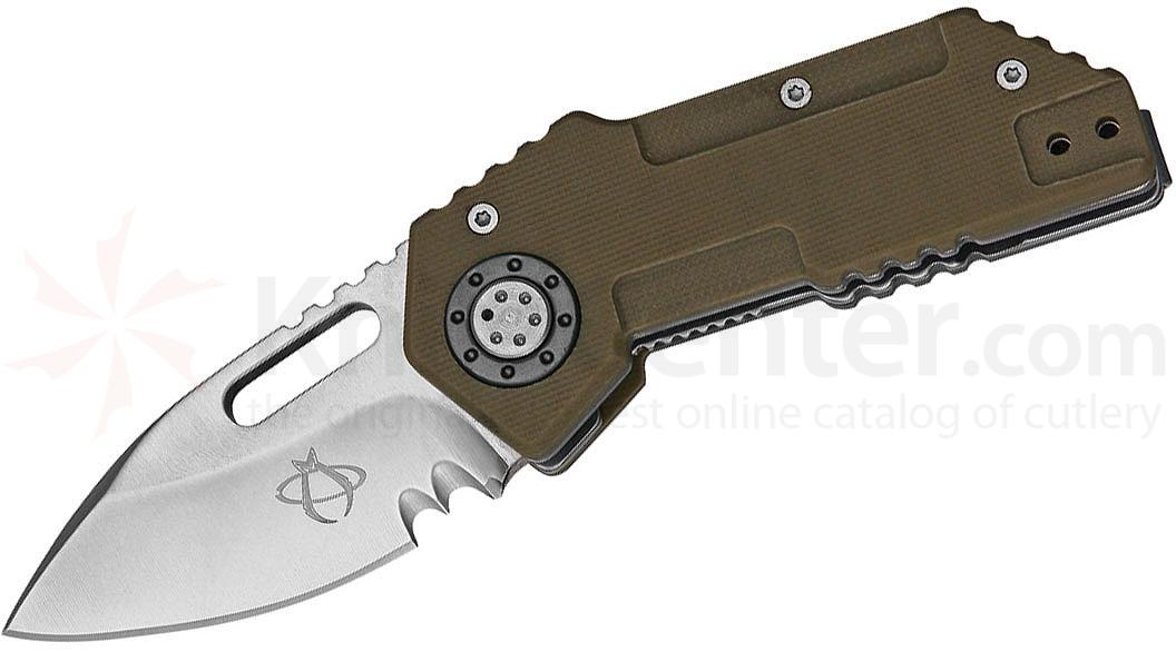 Mantis MT-9D Wile E Folding Knife 2.375 inch Blade, Coyota Tan G10 Handles
