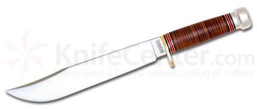 Marble's Trailmaker Stacked Leather Handle 10 inch Blade