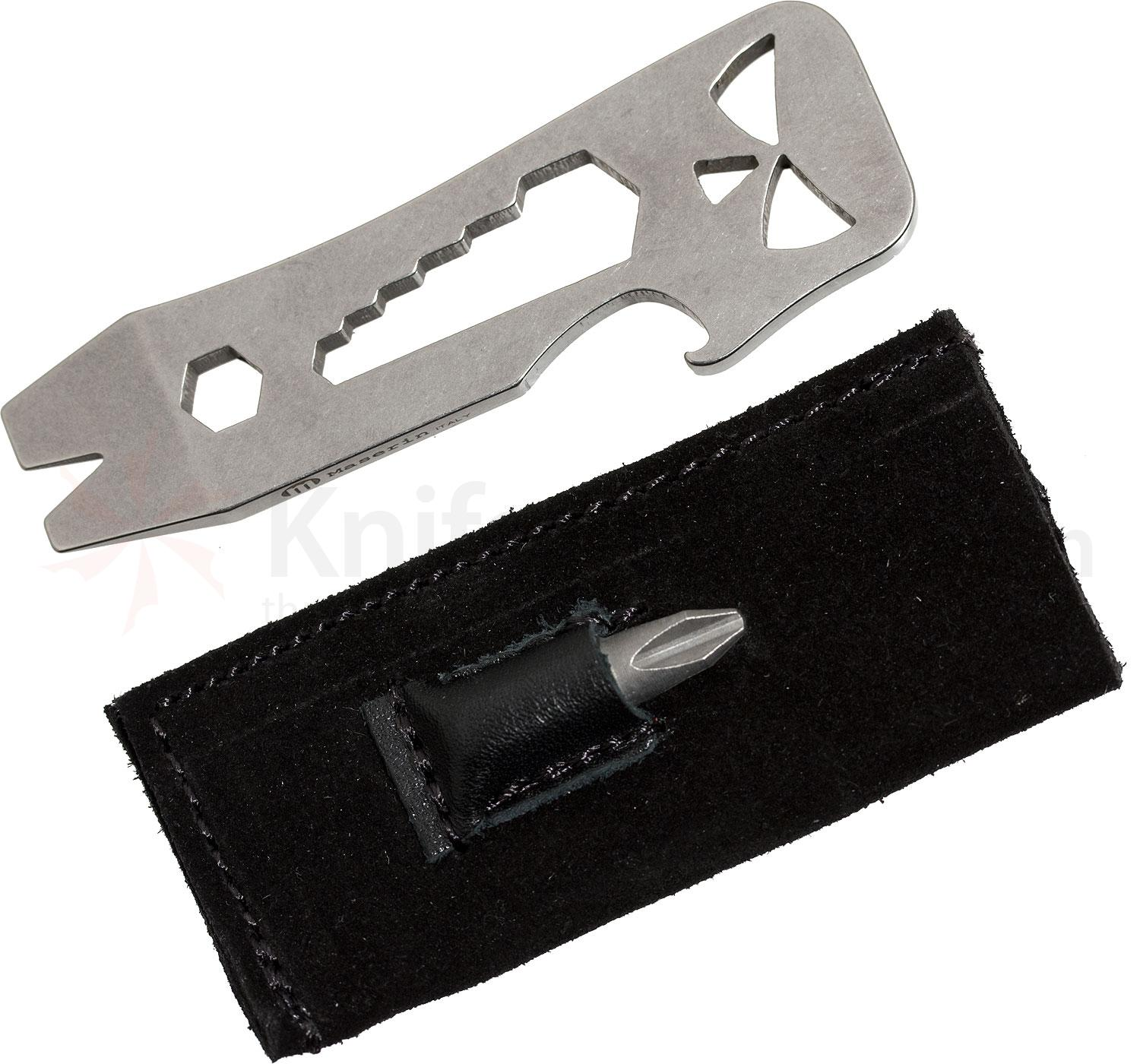 Maserin 905/BF Pocket Tool Ghost Multifunctional Pry Tool with Sheath