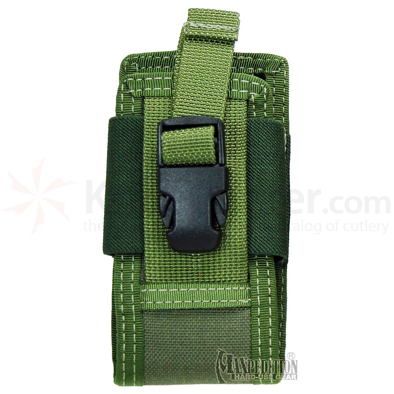 Maxpedition 0110G 5in. Clip-On Phone Holster, OD Green