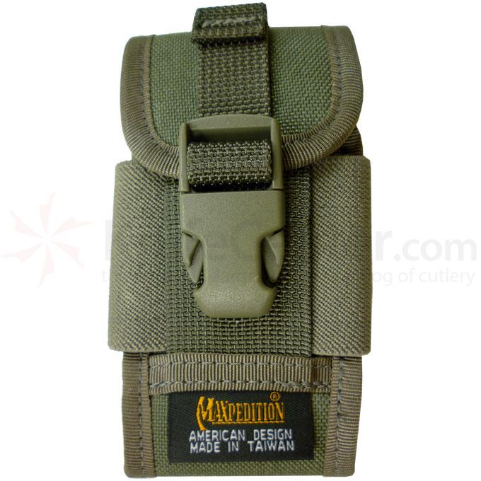 Maxpedition 0112F Clip-On PDA Phone Holster, Foliage Green