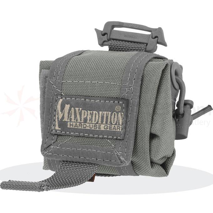 Maxpedition 0207F Mini Rollypoly Folding Dump Pouch, Foliage Green