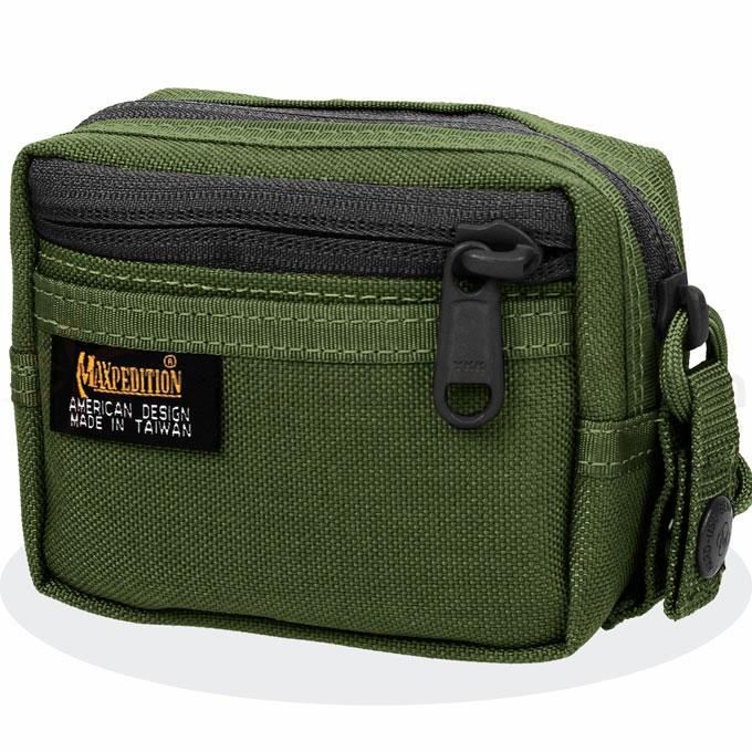 Maxpedition 0213G Three-By-Five Pouch, OD Green