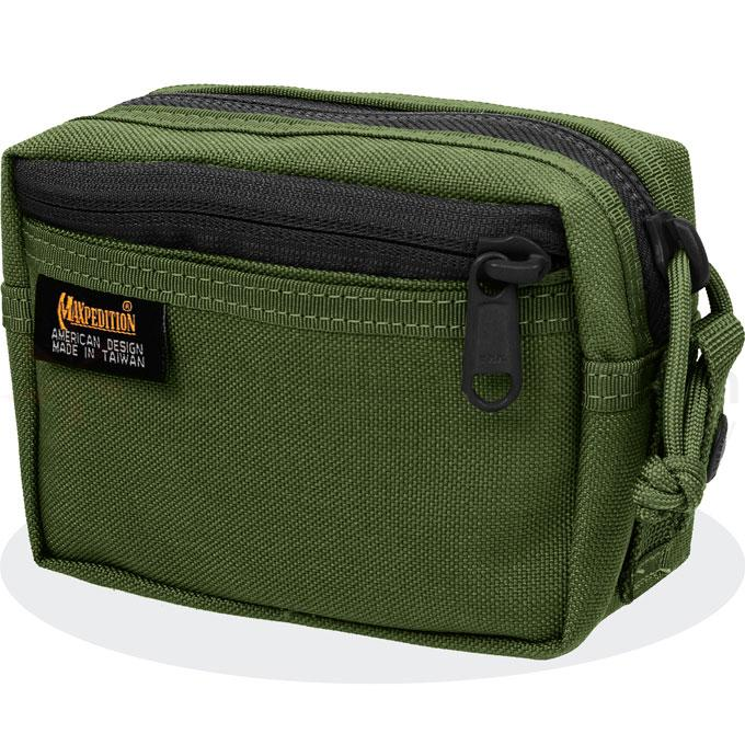 Maxpedition 0214G Four-By-Six Pouch, OD Green