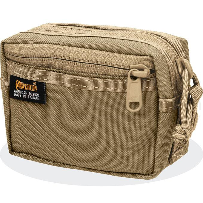 Maxpedition 0214K Four-By-Six Pouch, Khaki