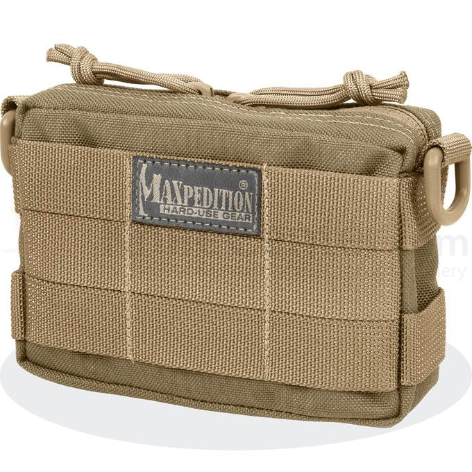 Maxpedition 0223K Tactile Pocket , Small, Khaki