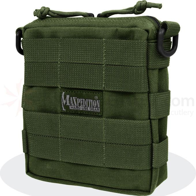 Maxpedition 0224G Tactile Pocket - Medium, OD Green