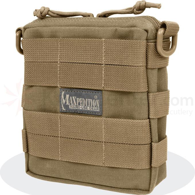 Maxpedition 0224B Tactile Pocket - Medium, Khaki