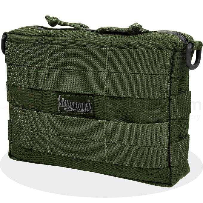 Maxpedition 0225G Tactile Pocket - Large, OD Green