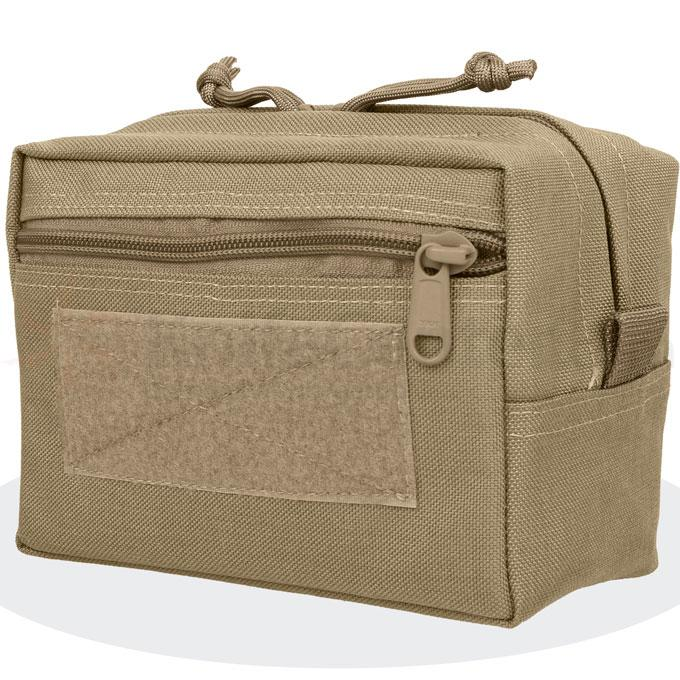 Maxpedition 0243K 5x7x4 Horizontal GP Pouch, Khaki