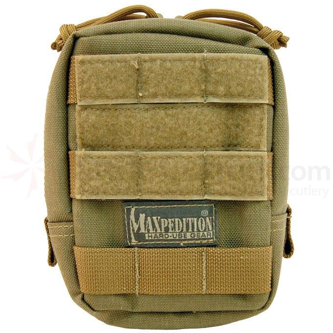 Maxpedition 0248K 4.5 inch x 6 inch Padded Pouch, Khaki