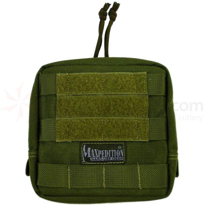Maxpedition 0249G 6 inch x 6 inch Padded Pouch, OD Green